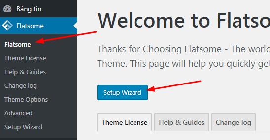 Cài đặt theme Flatsome cho WordPress
