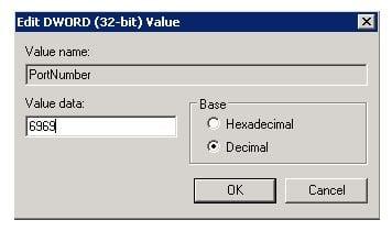 Hướng dẫn thay đổi Port Remote Desktop