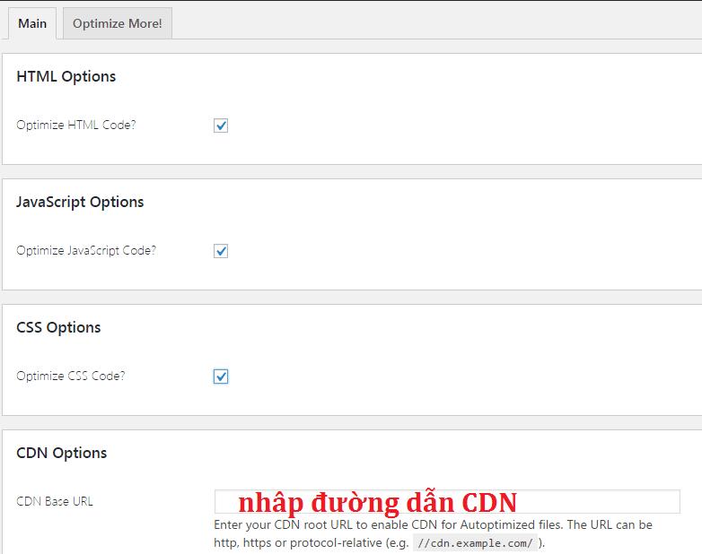 Tăng Tốc Tải Trang Website WordPress