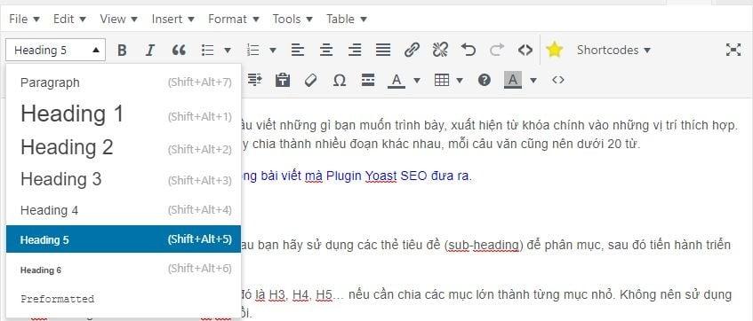 Cách viết bài chuẩn SEO cho WordPress