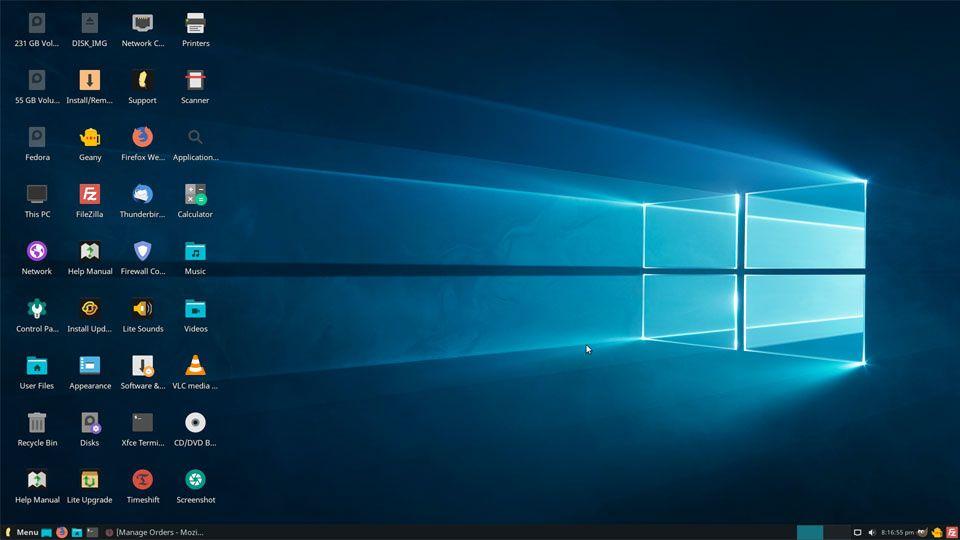 Windows 12 Lite Linux – Nhanh hơn windows 10