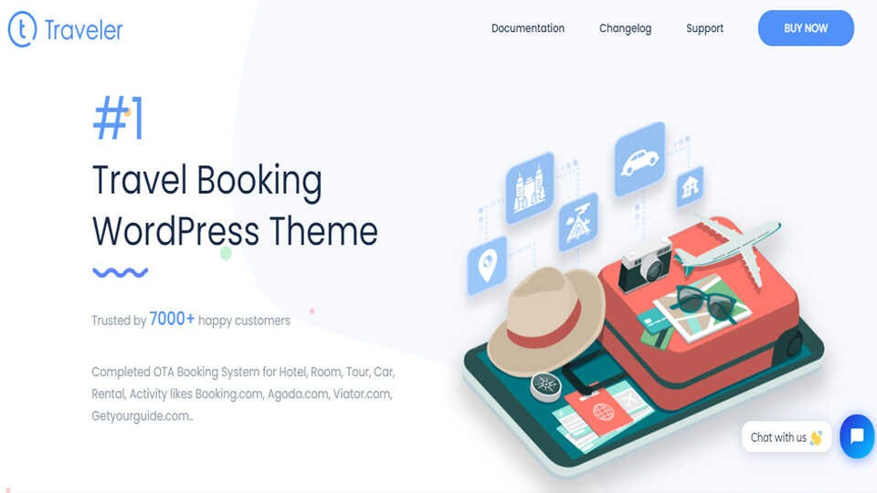 Download Theme Travel Booking Wordpress Optimized