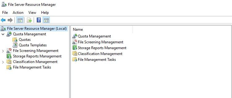 Mcsa 2019 File Server Resource Manager 4